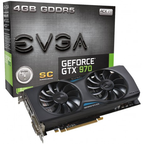 EVGA GeForce GTX 970 4GB Superclocked ACX 2.0