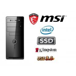 Intel G3260 Dual Core 3.3 Ghz  Multimedia Systeem: Kingston 120 GB SSD / 4 GB Geheugen / USB 3.0
