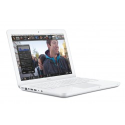Apple Macbook White Unibody Eind 2009: Intel Core 2 Duo 2,26 Ghz, 2 GB Intern Geheugen, 6 Maanden Garantie!