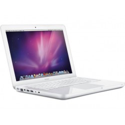Apple Macbook White Unibody Mid 2010: Intel Core 2 Duo 2,4 Ghz, 2 GB Intern Geheugen, 6 Maanden Garantie!